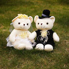 Teddy bear couple Plush Doll wedding decorative gift for Valentine's Day gift