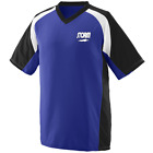 Storm Men's Paradigm Performance Jersey Bowling Shirt Dri-Fit Purple Black