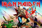 Iron Maiden Trooper Giant 4 Piece Giant Wall Mural 232x158cm