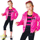 GIRLS PINK ROCK N ROLL COSTUME CHILDS TV / FILM 1950'S LADIES CHARACTER JACKET