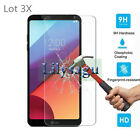Lot 3X  New Tempered Glass Screen Protector Guard Film For LG G5 G6 V10 V20