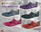 Summer Fruits by Coolers Ladies Casual Shoes  EEE Wide Fitting  Cosy EEE X wide