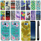 For Samsung Galaxy S8+ Plus G955 PATTERN HARD Protector Back Case Cover + Pen