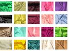 "Stretch Charmeuse Satin Polyester Spandex Fabric 58"" to 60"" Wide By The Yard"