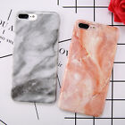 Hard PC Marble Granite Texture Glossy Pattern Case Cover For iPhone 6 6S 7 Plus