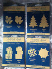 Tattered Lace -Embossing Folder & Die Gatefold - CHRISTMAS DESIGNS - choice of 4