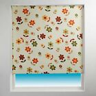 Sunlover THERMAL BLACKOUT Roller Blinds. Daisy Pattern. Sizes 60 or 90cm