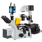 40X-1500X Inverted Phase-Contrast + Fluorescence Microscope with 1.4MP Extreme L