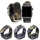 Leather Strap for Apple Watch 38 / 42 mm Heritage Genuine Leather Strap band
