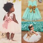 Cute Toddler Baby Girl Princess Sequins Dress Wedding Fancy Party Tutu Dresses