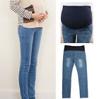 New Maternity Over Bump Skinny Jeans Pants Trousers Pregnancy Comfy M/L/XL/2XL