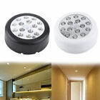 Security Indoor Wireless LED Wall Light Infrared Auto Motion Sensor Night Lamp