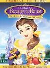 Beauty and the Beast: Belles Magical World (DVD, 2003) Animated, Musicals
