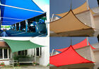 Shade Sail Canopy 9.8'/13' Oversize Sun Shade Patio Yard Cover UV Protected New