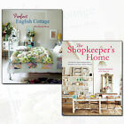 Perfect English Cottage 2 Books Collection Set The Shopkeeper's Home NEW CA