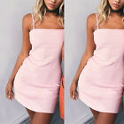 Womens Ladies Strappy Backless Midi Bodycon Party Cocktail Ladies Couture Dress
