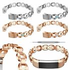 Hot Diamond Stainless Steel Strap Wrist Band For Fitbit Alta HR Smart Watch New