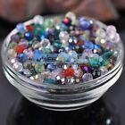 (32 Facets) 100pcs 6mm Faceted Round Glass Crystal Loose Spacer Beads