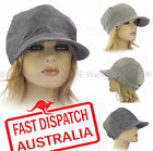 Ladies Woman Newsboy Bakerboy Baseball Slouchy Chemo Headcover Sun Visor Hat Cap