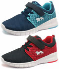 New Lonsdale Sivas Hook-and-Loop Kids Trainers ALL SIZES AND COLOURS