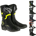 Alpinestars SMX-6 v2 Motorcycle Boots Sport Racing CE Armour Motorbike All Sizes