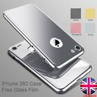 360 Hybrid Tempered Glass + Hard Ultra thin Case Cover for iPhone 6 S7 Plus 4.7