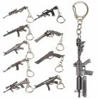​Classic Metal Military Weapon Tank Pistol Plane Model Keyring Key Chain gift