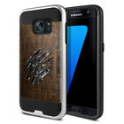 For Samsung Galaxy S7 G930 Shockproof Brushed Hybrid Protector Cover Case + Pen