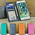 For Apple iPhone 7 8 Plus XS Max Luxury Leather Flip Stand Wallet Case Cover