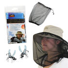 Mosquito Net Midge Insect Fly Bug Hat Face Protector Cap Camping Outdoor Walking
