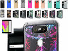 Tempered Glass+2Layer Dual Slim Hybrid Impact Case Cover For LG V20 LTE Phone