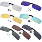 2017 Polarized Clip On Safe Driving Glasses Outdoor Day Night Vision Lens UV400