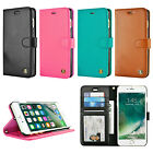 For Apple iPhone 6 Plus / 6s Plus Luxury Leather Flip Stand Wallet Case Cover