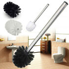 1/2/3Pcs Replacement Stainless Steel WC Bathroom Cleaning Toilet Brush Head Hold