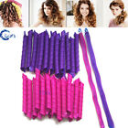 18/40PCS 30/55CM Magic DIY Hair Curlers No Heat Cheap Roller Spiral Circle Tool