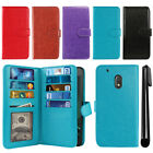 "For Motorola Moto G4 Play 5"" XT1607 XT1609 Card Holder Wallet Cover Case + Pen"