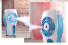 Summer Humidifier Fan USB Rechargeable Diffuser Handheld Misting Spray Portable