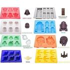 8 Styles Star Wars Silicone Ice Cube Tray Chocolate Fondant Cake Mold New LA