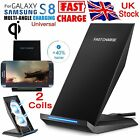 Fast Charging for Samsung Wireless Charger S6 S7 Edge S8+ Plus Stand Holder Pad