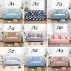 Soft Fabric Flower Stretch Sofa Covers Chair Settee Sofa Protector 1 2 3 Seater