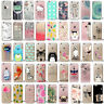 Cute Clear Patterned Silicone Soft TPU Case Cover Fit Apple iPhone 5 6 7 Plus us
