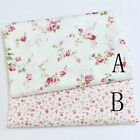50cm*160CM Fasion Flower 100%cotton fabric Quilting  Clothes Bedding Sewing 050