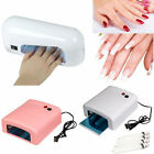 9W Nail Polish Dryer Curing Gel Manicure UV Lamp Dryer+Light Bulb free shipping