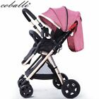 Coballe High Landscape 175degree baby stroller ultra-light can face to mother fo