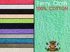 "Terry Cloth Cotton Towel Fabrics / 60"" Wide / 16 OZ Sold by the yard"