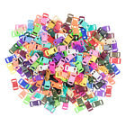 """Craft County 3/8"""" Contoured Side Release Plastic Buckles**20 Colors**100-200 pcs"""