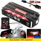 68800mAh Emergency Car Jump Starter Booster Emergency Power Bank Charger Phone