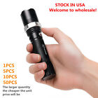 Flashlight Zoomable Focus LED SCF Flashlight Torch for Out Door&Home ^