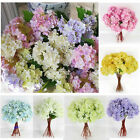 5Pcs of Artificial Craft Hydrangea Home Wedding Fake Bridal Silk Flowers Bridal