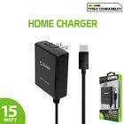Cellet High-Powered 15 Watt / 3 Amp USB Type-C Home Wall Cell Phone Charger